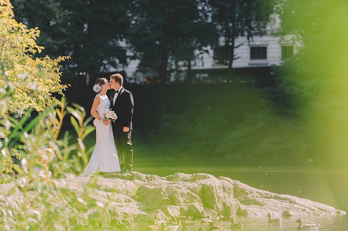 Central Park Wedding at Loeb Boathouse