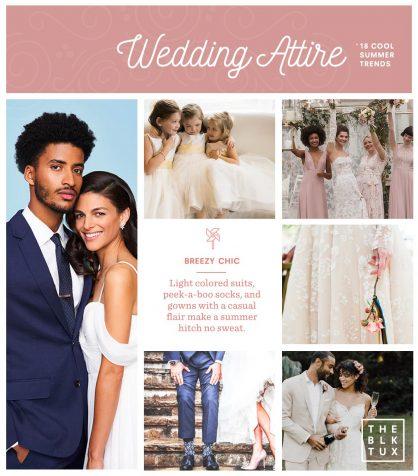 2018 wedding trends attire