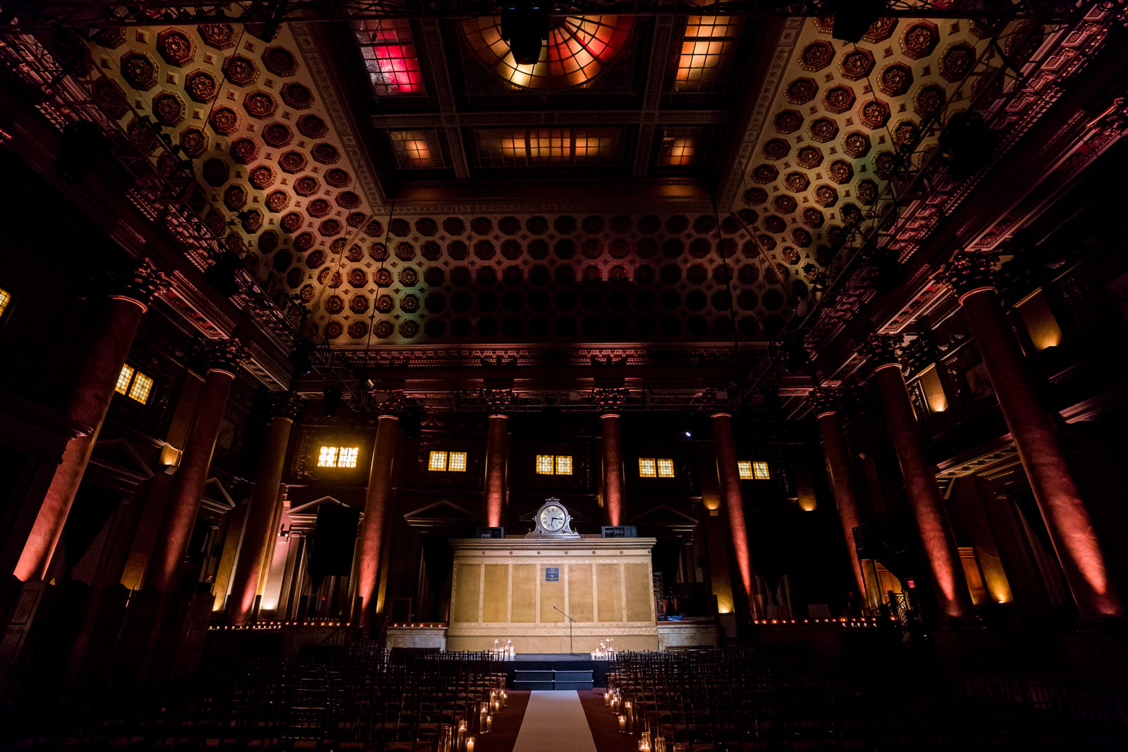 Sophisticated Art Deco Wedding at Capitale New York City