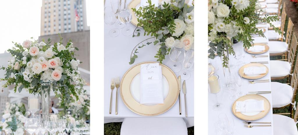 more wedding reception details at 620 loft and garden
