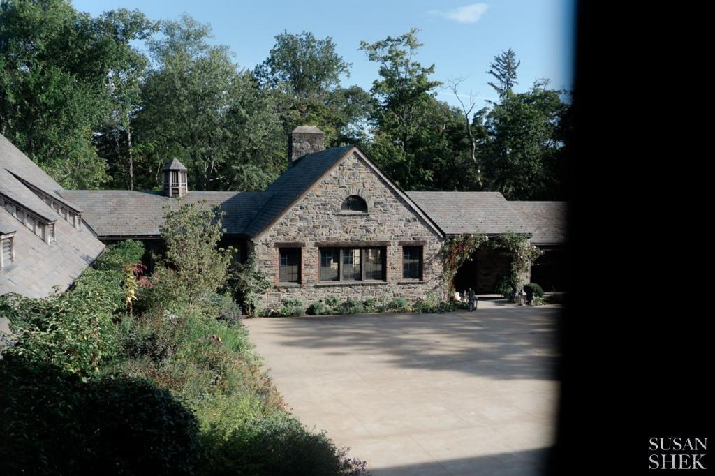 picturesque perspective of the restaurant of blue hill stone barns