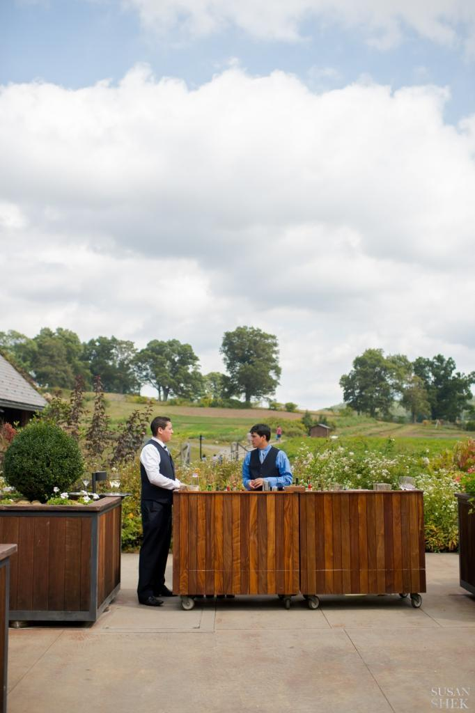 the bar of blue hill stone barns