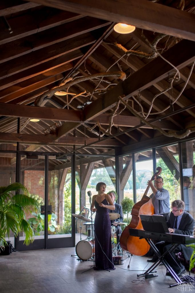 atmospheric shot of alex levin band at blue hill stone barns