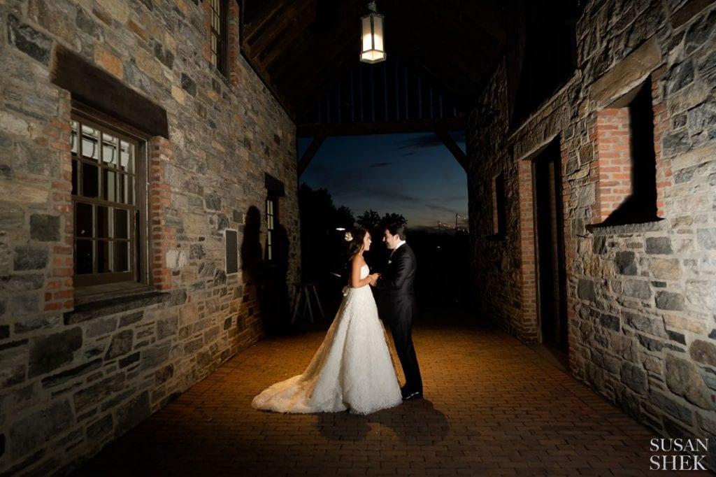 sunset portraits at blue hill stone barns