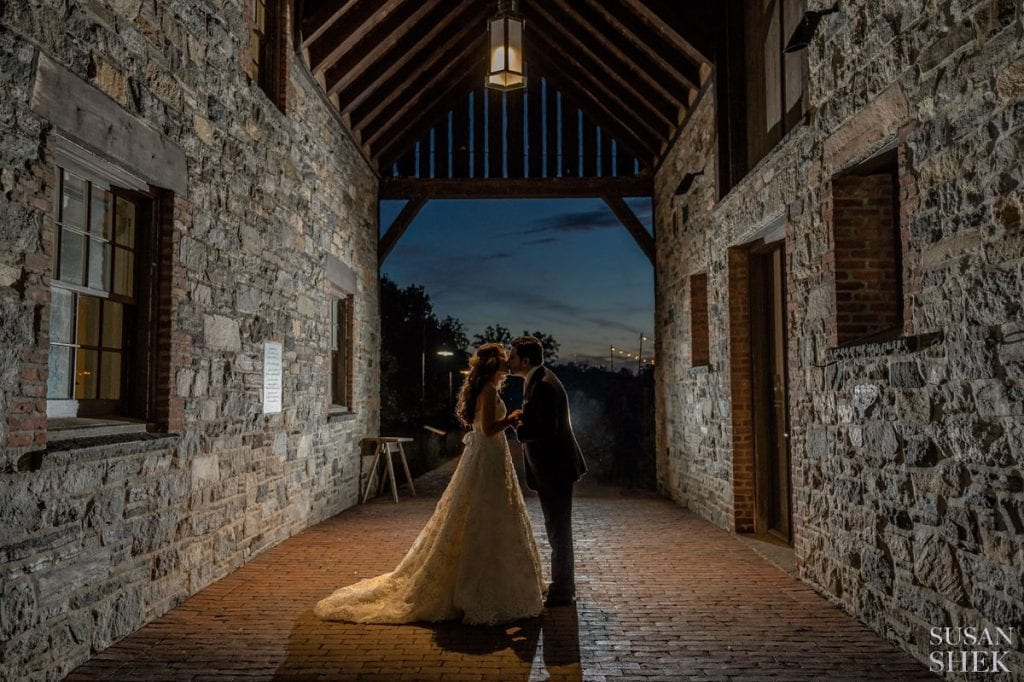 evening portraits at blue hill stone barns