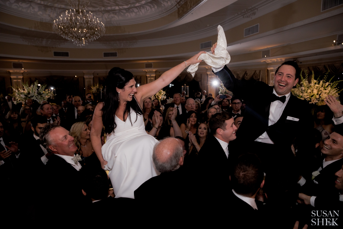 Popular jewish wedding tradition is the hora
