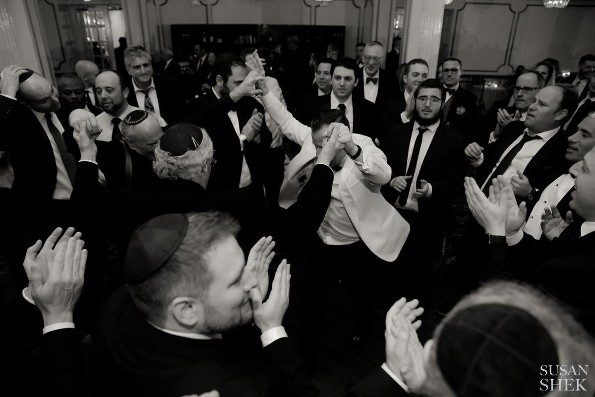 Jewish wedding tradition dance Sherele
