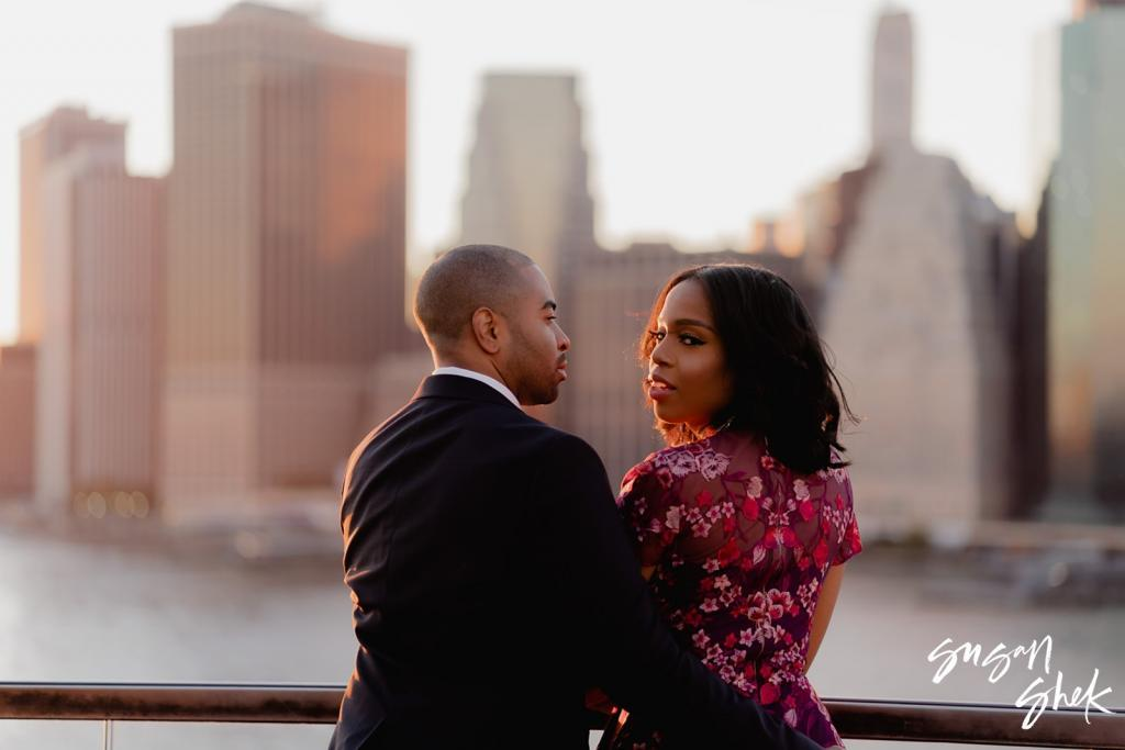 1 Hotel Brooklyn Bridge Engagement Session, Engagement Shoot, NYC Engagement Photographer, Engagement Session, Engagement Photography, Engagement Photographer, NYC Wedding Photographer