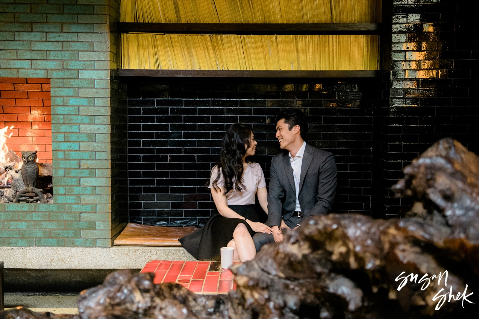 Park Restaurant Engagement, Engagement Shoot, NYC Engagement Photographer, Engagement Session, Engagement Photography, Engagement Photographer, NYC Wedding Photographer
