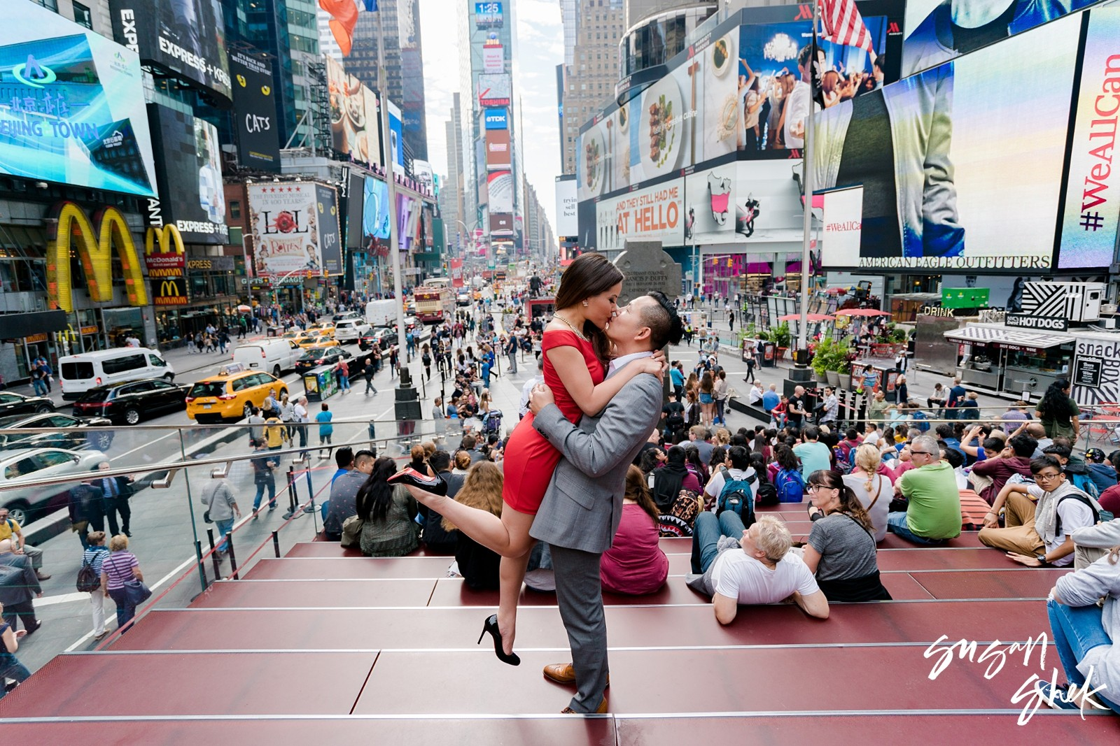Times Square Engagement Shoot, NYC Engagement Photographer, Engagement Session, Engagement Photography, Engagement Photographer, NYC Wedding Photographer