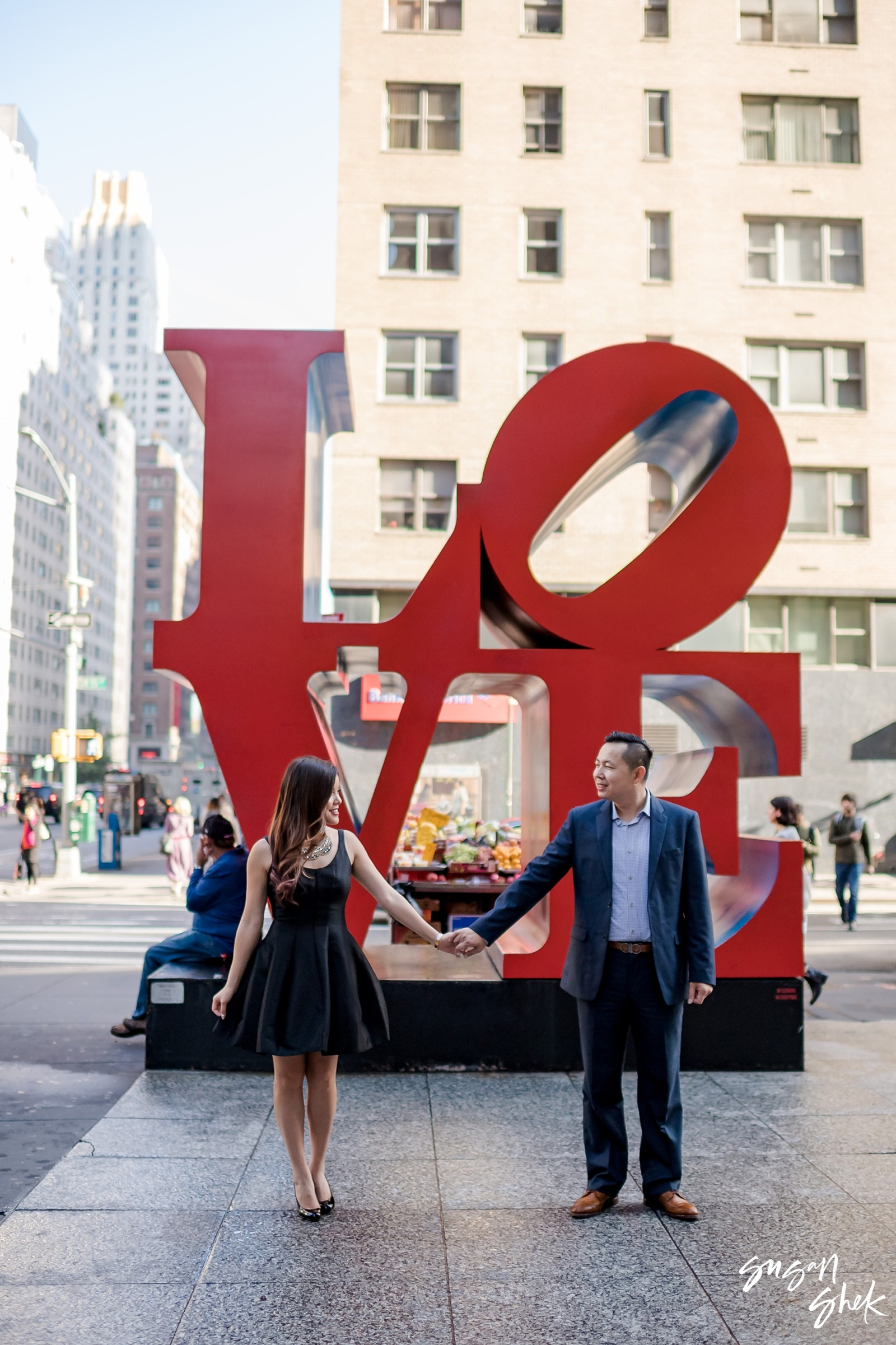 Love Sign Engagement Shoot, NYC Engagement Photographer, Engagement Session, Engagement Photography, Engagement Photographer, NYC Wedding Photographer