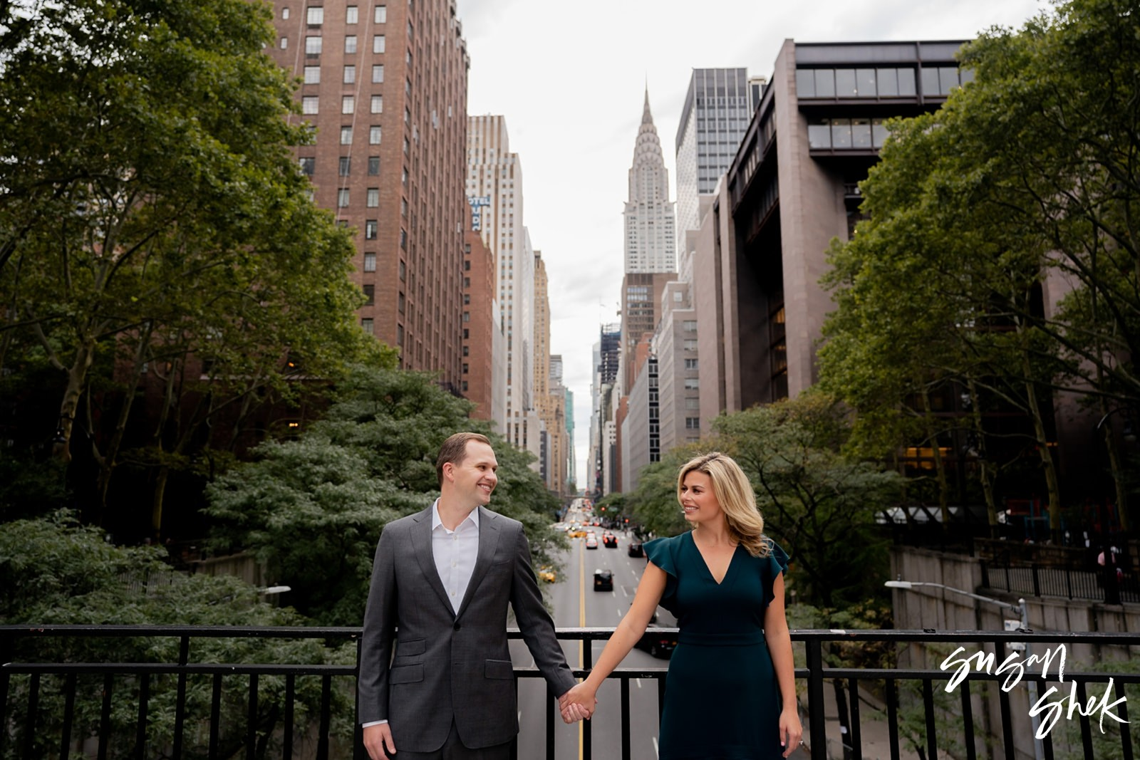 Tudor City, Engagement Shoot, NYC Engagement Photographer, Engagement Session, Engagement Photography, Engagement Photographer, NYC Wedding Photographer