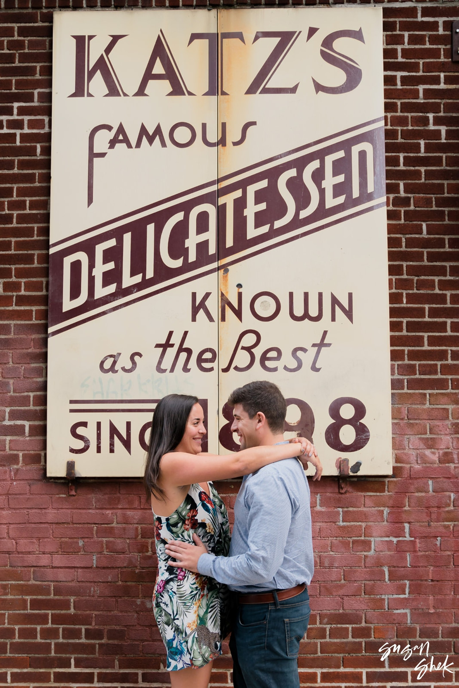 Katz Deli Engagment, Katz Deli, Katz Deli Engagement Session, Engagement Shoot, NYC Engagement Photographer, Engagement Session, Engagement Photography, Engagement Photographer, NYC Wedding Photographer