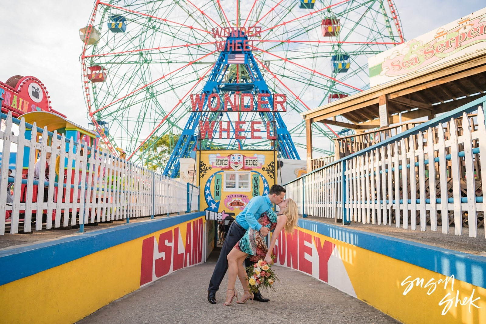 Coney Island Engagement, Engagement Shoot, NYC Engagement Photographer, Engagement Session, Engagement Photography, Engagement Photographer, NYC Wedding Photographer