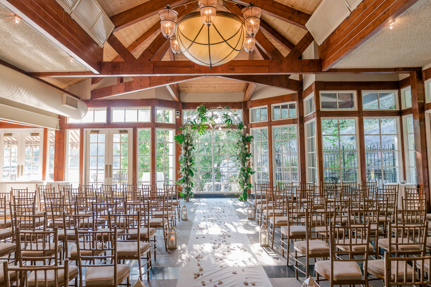 Weddings at the Central Park Boathouse