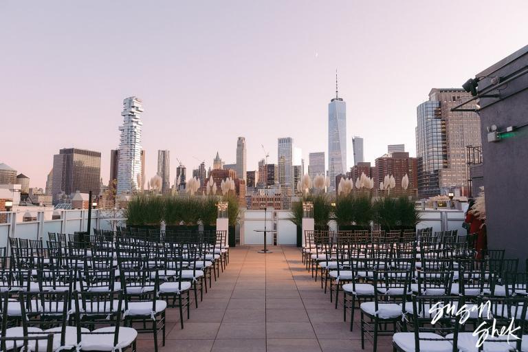 Tribeca Rooftop Wedding in New York City