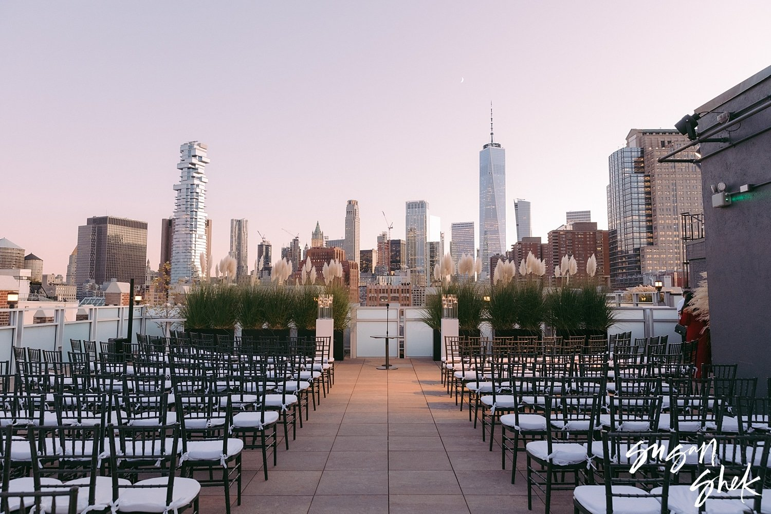 Tribeca Rooftop Wedding in New York City