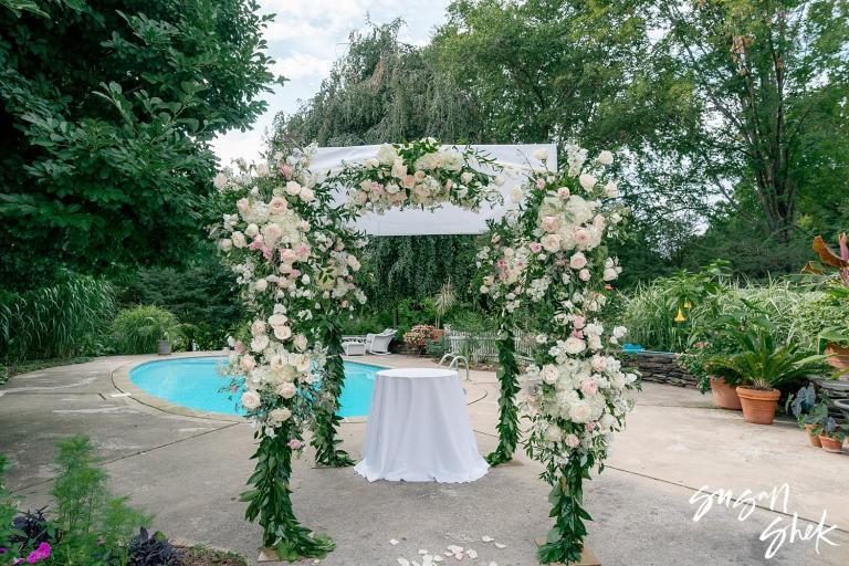 Backyard Jewish Wedding at a Private Estate in CT