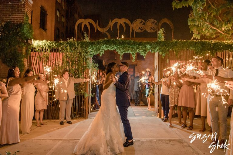 MyMoon Wedding in Williamsburg Brooklyn | Intimate Wedding Celebration