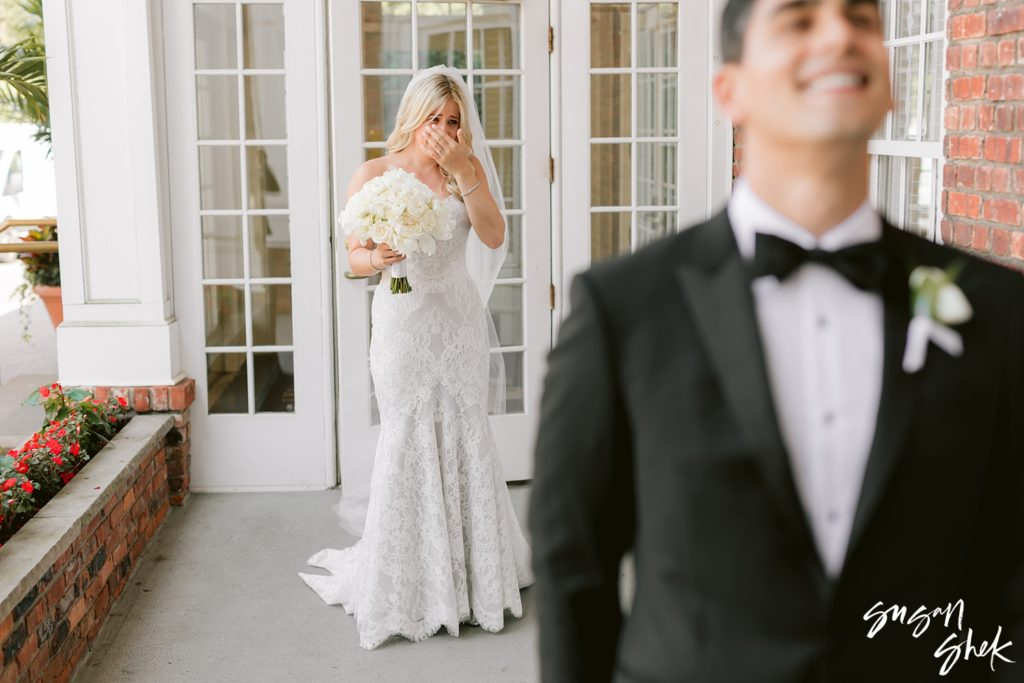 first look wedding day